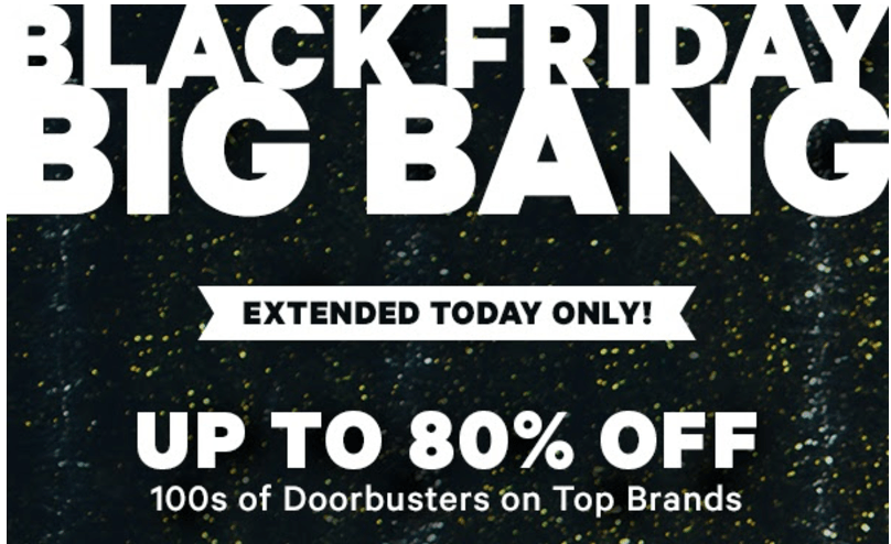 Groupon Canada Black Friday Big Bang Deals: Save up to 80% Off Activities, Spas, Restaurants and More, Extended Today Only