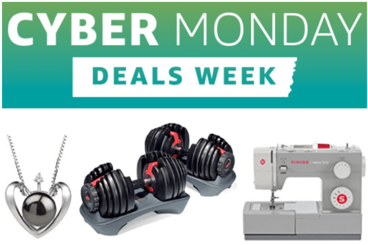 Amazon Canada Syber Monday Today's Deals: Save 41% Off Singer Heavy Duty Sewing Machine, 31% on Bowflex SelectTech Dumbbells & More Offers