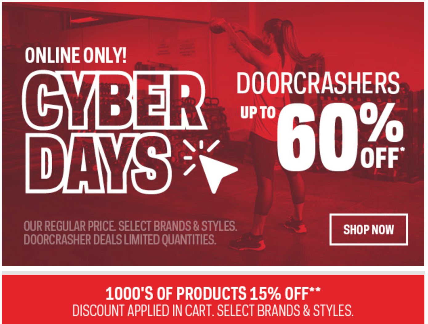 Sport Chek Canada Cyber Week Sale: Save Up to 60% Off + Extra 15% Off + FREE Shipping + More!