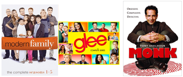 Amazon Canada Cyber Monday Today's Deals: Save 51% Off Modern Family Seasons 1-5, 50% on glee & 50% on Step2 Deluxe Art Master Desk