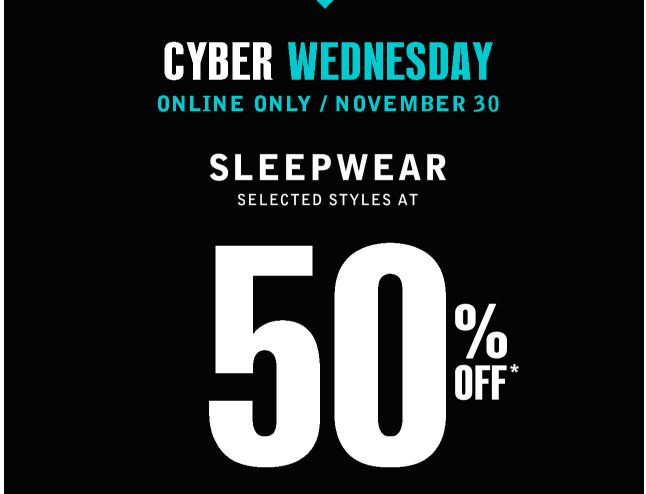 Addition Elle Canada Online Flash Sale: Save 50% off Sleepwear! Today