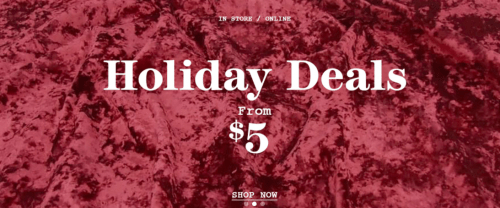 Forever 21 Canada Holiday Deals Starting at $5 + Free Shipping on ALL Orders Today Only!