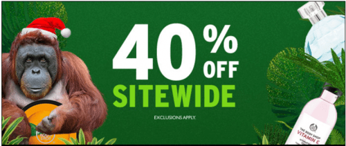 The Body Shop Canada Deals: Save 40% Off Everything Sitewide + FREE Body Butter + FREE Shipping On $50 Purchase!