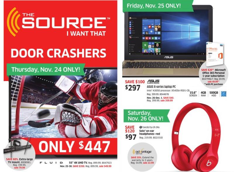 The Source Canada Black Friday 2016 Flyer Sneak Peek!