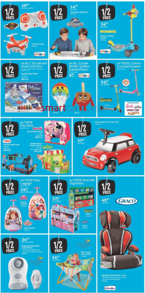 Toys R Us Canada Cyber Monday Via Smartcanucks.ca