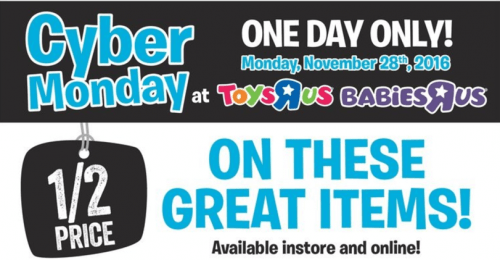 Toys R Us Canada Cyber Monday at Smartcanucks.ca