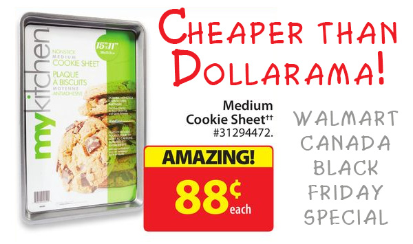 Walmart Canada Black Friday Cookie Sheet Deal