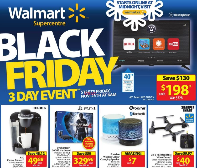 Walmart Canada Black Friday Flyer