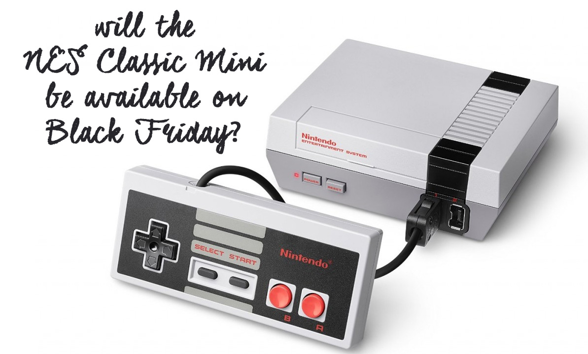 will nintendo nes classic edition mini be available in stock in canada for black friday. Black Bedroom Furniture Sets. Home Design Ideas