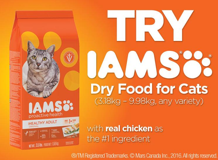 Walmart Canada Coupons: Save $5 On Iams Dry Cat Food
