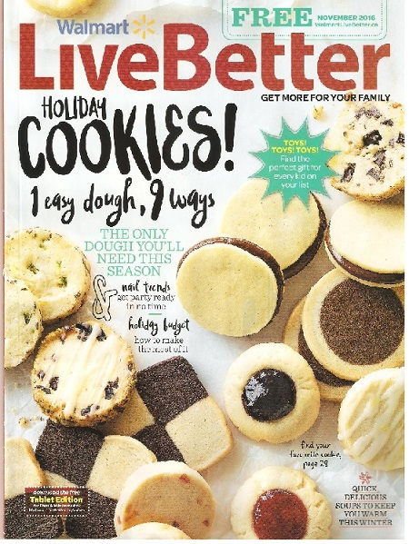 Walmart Live Better Magazine November Edition Preview