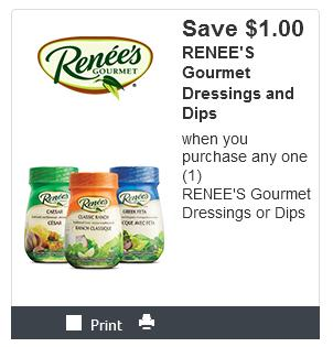 Canadian Coupons: Save $1 On Renee's Dressing or Dips *Printable Coupon*