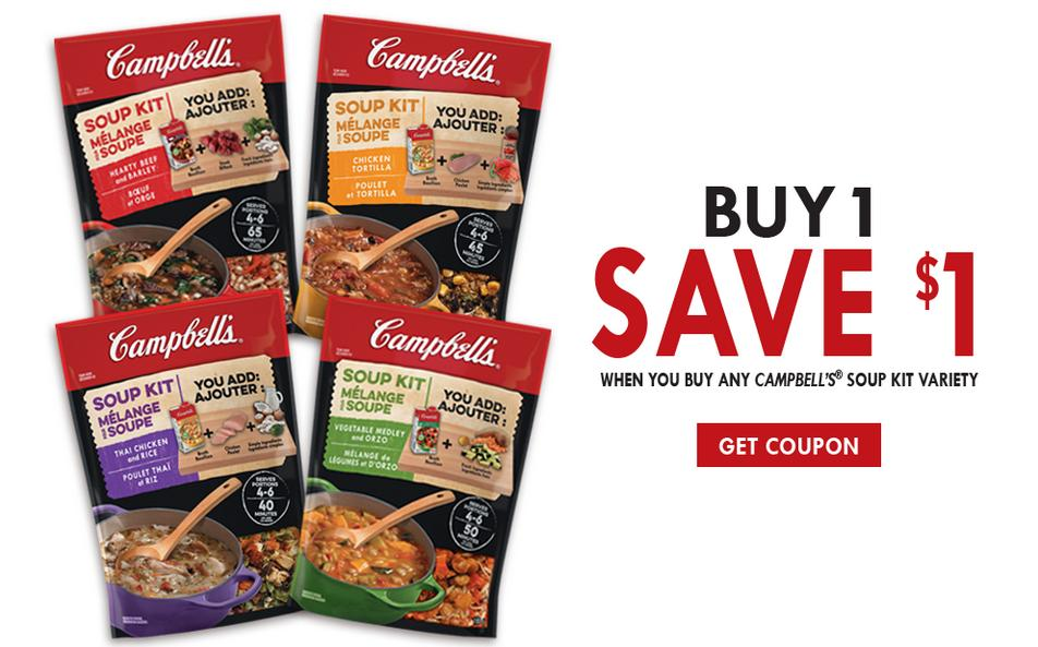 Campbell's Canada: Two New Printable Coupons Available