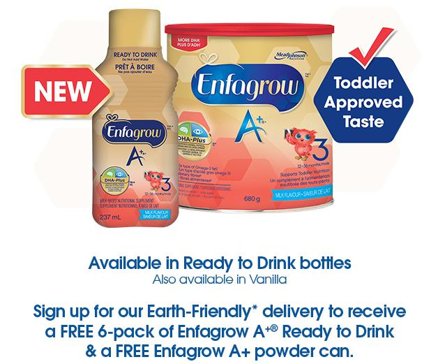 Canadian Free Samples: Enfagrow A+ Free Full Size Sample