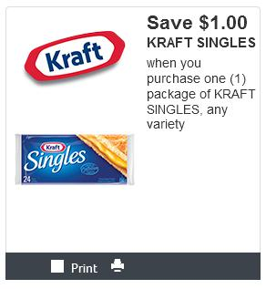 Canadian Coupons: Save On Kraft Singles and All Natural Peanut Butter