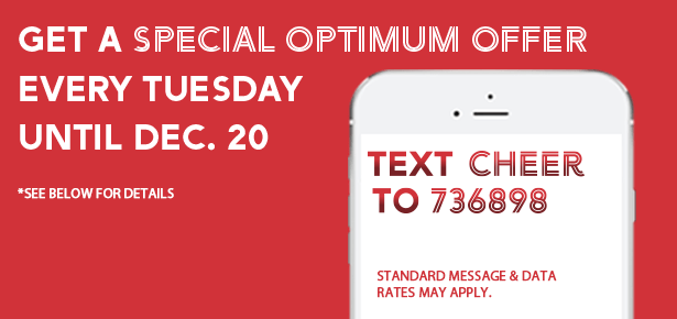 Shoppers Drug Mart Canada: Text CHEER For Special Offers Until December 20th