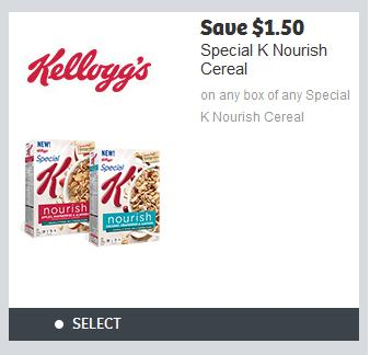 Canadian Coupons: Save $1.50 on Special K Nourish *Printable Coupon*