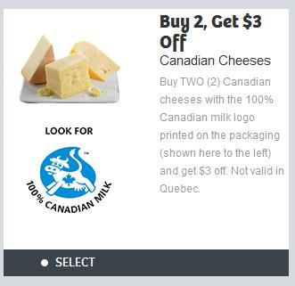 Canadian Coupons: Save $3 When You Buy Two Canadian Cheeses *Printable Coupon*