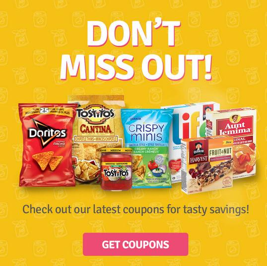 Tasty Rewards Canada: New Printable Coupons Added For November