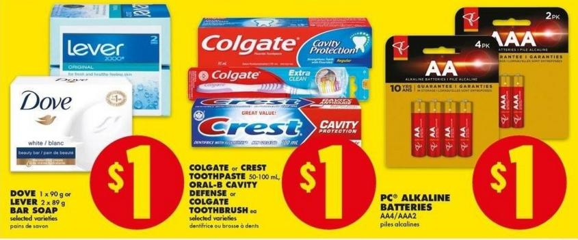 No Frills: Free Crest Toothpaste After Coupon
