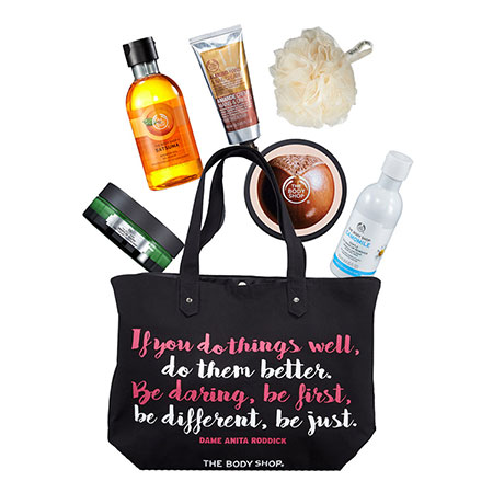 The Body Shop Canada Holiday Deals: Black Friday Tote for Only $35 (a $115 Value) With Any $30 Purchase