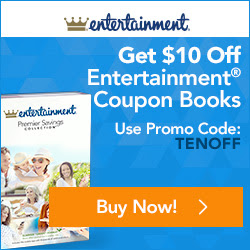 Entertainment Book Canada Deal: Save $10 Off 2017 Books & Annual Digital Membership + Free Shipping!