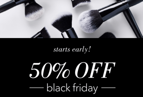 e.l.f. Cosmetics Black Friday 2016 Sale: Save 50% Off Sitewide with Coupon Code *LIVE*