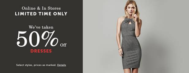 Le Château Canada Pre-Black Friday Sales: Save 50% off Dresses & Men's Suits + More!