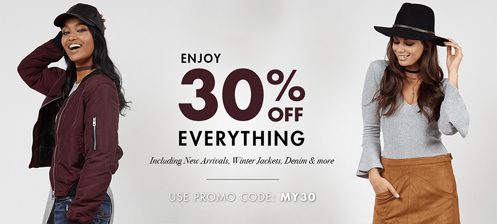 Jean Machine Canada Sale: Save 30% Off + Extra 25% Off Sale Tops + $29.99 Sale Jeans!