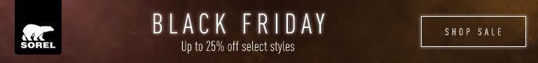 Sorel Footwear Canada Black Friday Sale: Save Up to 25% Off Footwear & Apparel!
