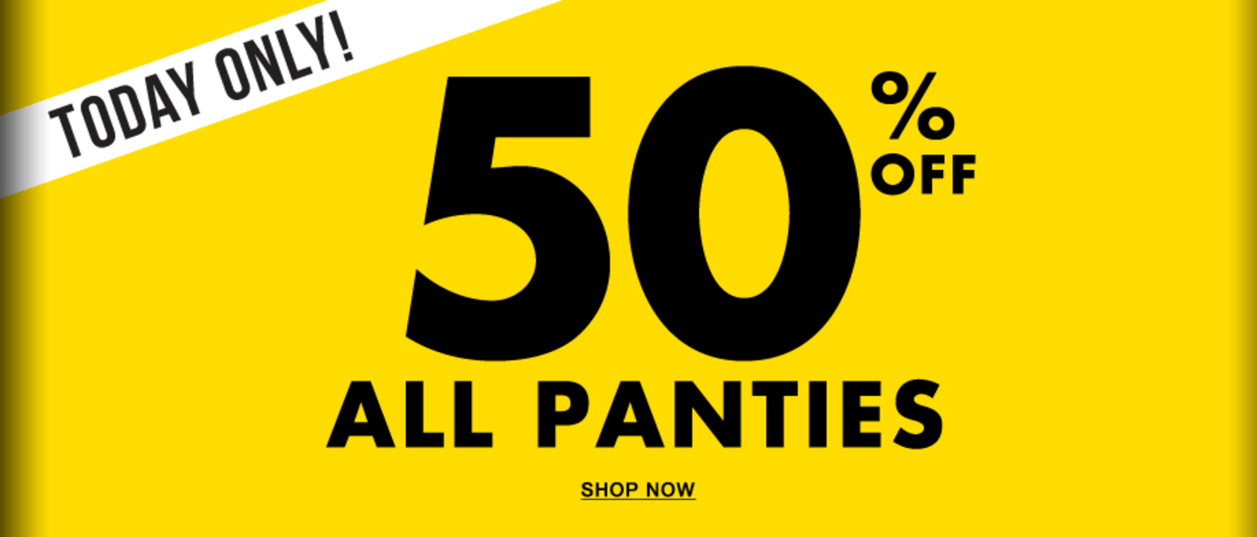 La Senza Canada Deal Today Only Save 50% Off All Panties!