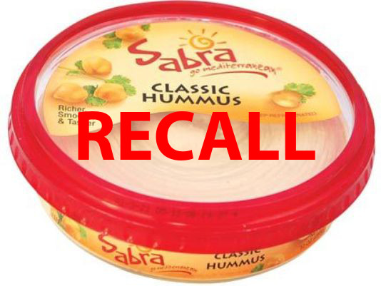 Sabra Hummus RECALLED Due to Listeria Monocytogenes Contamination! *IMPORTANT*SERIOUS*