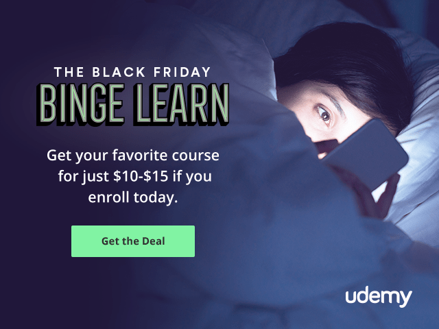 Udemy Canada Sale: ALL Courses Sitewide for Only $15!