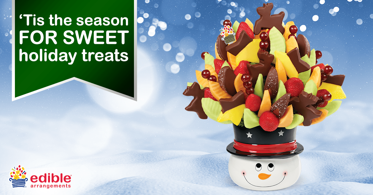 Edible Arrangements 'Tis the season for giving joy! Show them you care this holiday season with Chocolate Dipped Fruit for just $! Limited Time Only rburbeltoddrick.ga