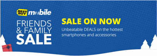 Best Buy Canada Mobile Friends & Family Sale