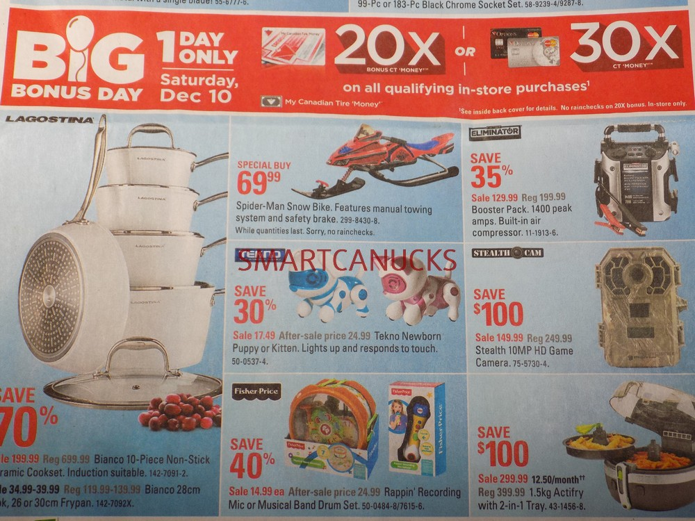 Canadian Tire Flyer December 8-15