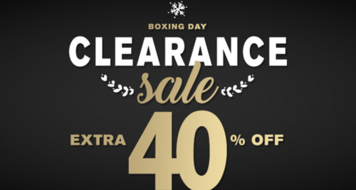 Lids Canada Boxing Day sale