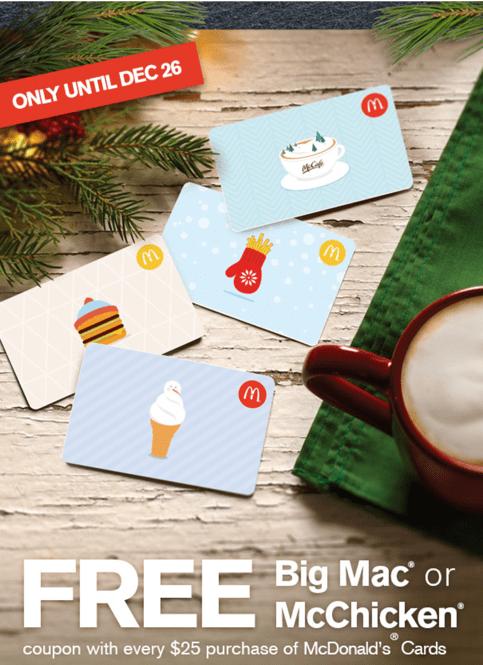 McDonald's Canada Promotions