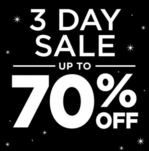 Michaels Canada 3 Day Sale