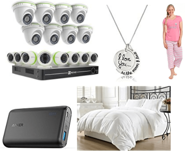 Amazon Canada Deals Of The Day: Save 50% off Pajamas & Sleepwear, 30% off Select Sentiment Jewelry,40% on Select Security Cameras & More Deals