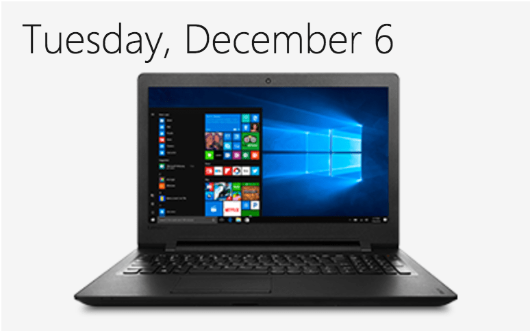 Microsoft Canada Day 2 Of 12 Days Of Deals Today Save 130 Off Lenovo Ideapad 110 Laptop Free Shipping Canadian Freebies Coupons Deals Bargains Flyers Contests Canada