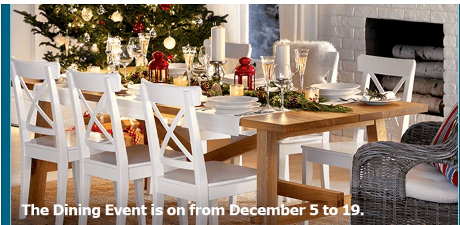IKEA Canada Holiday Dining Event Sale Save 15 Off All Dining Chairs Cana
