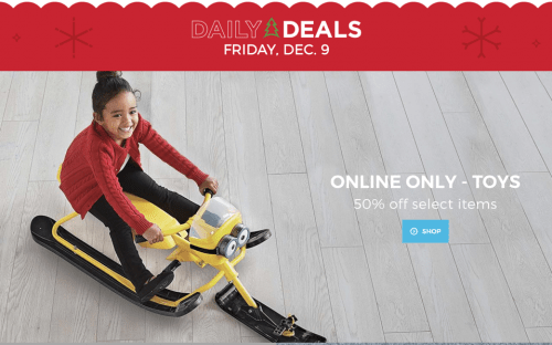 Sears Canada Christmas Daily Deals
