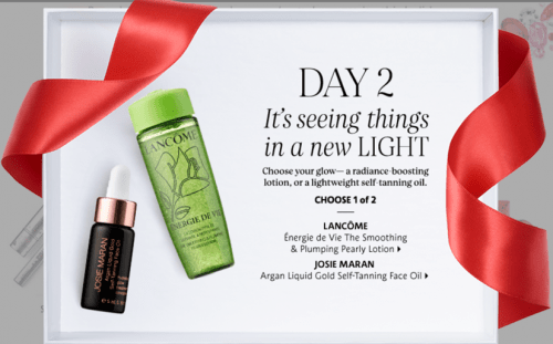 Sephora Canada 25 Days of FREE Minis