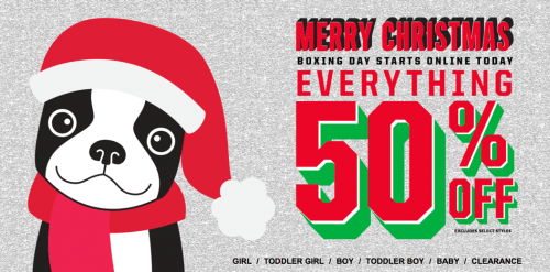 The Children's Place Canada Boxing Day Sale