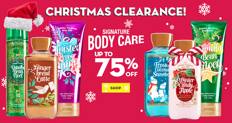 Bath & Body Works Boxing Day Sale & Boxing Week Deals 2016: Up to 75