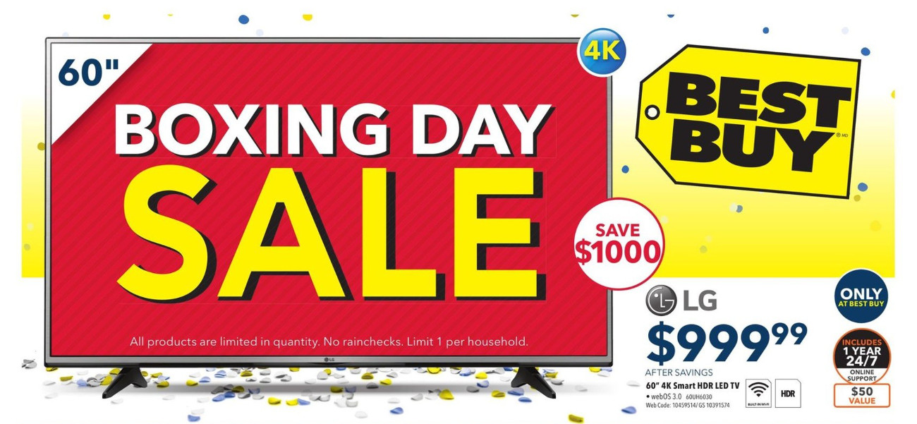 Best Buy Canada Boxing Day Sale 2016 *NOW LIVE* | Canadian ...