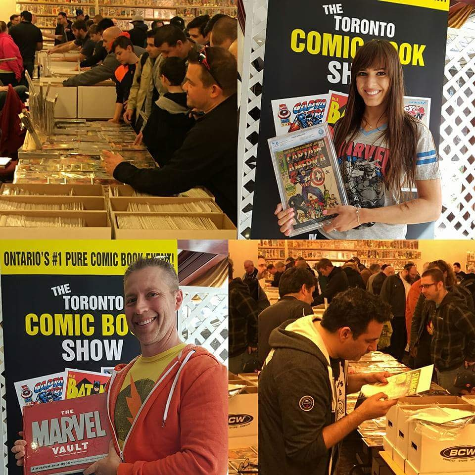 Free Comic Book Day Flyer: Toronto Comic Book Show Boxing Day Bash: Up To 75% Off