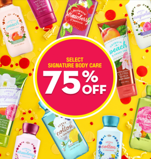 Bath & Body Works Canada Sale