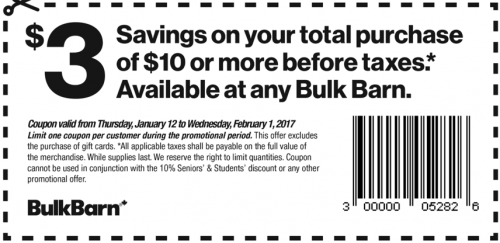 Bulk Barn Canada Coupons via Smartcanucks.ca Deals